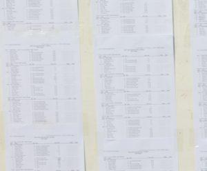 Listes provisoires des étudiants S1-S3-S5