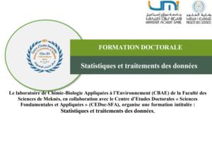 Read more about the article FORMATION DOCTORALE-Statistiques et traitements des données