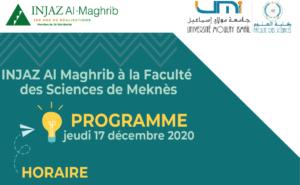 INJAZ Al-Maghrib à La Faculté des Sciences de Meknès